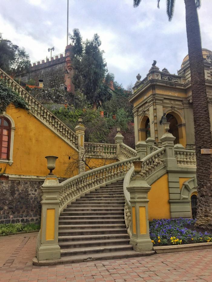 Roteiro completo em Santiago
