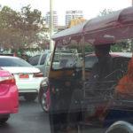 Taxistas em Bangkok