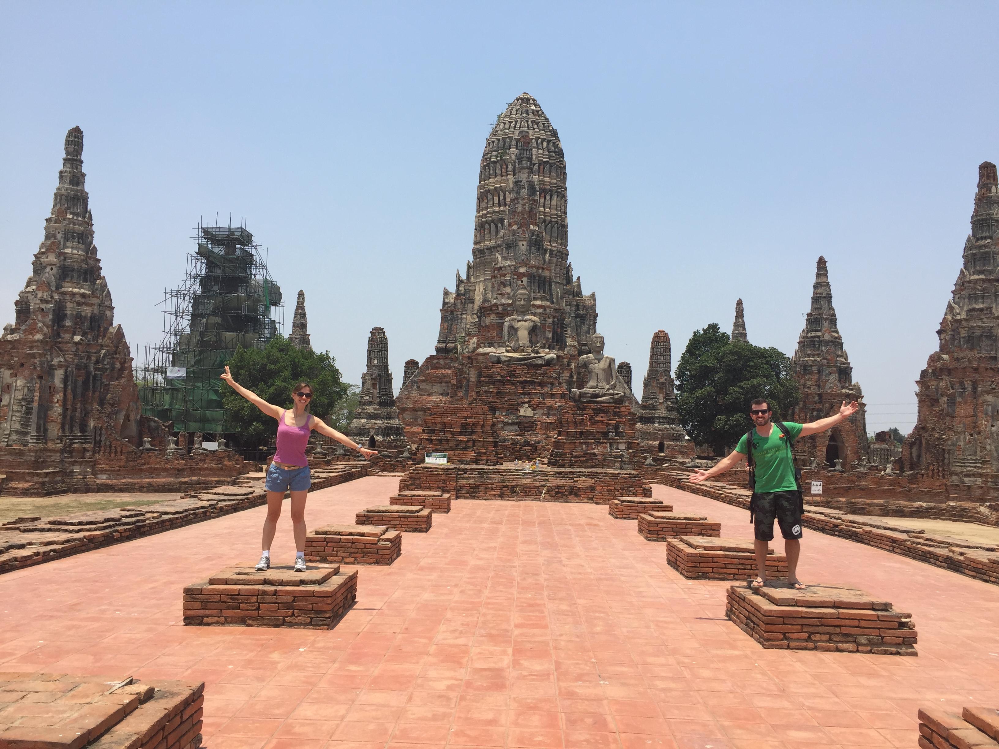 Bate e volta em Ayutthaya – roteiro de 1 dia
