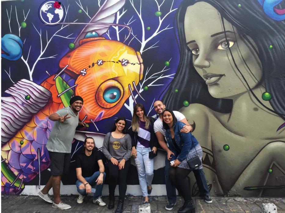 Turistando em São Paulo conheça o Beco do Batman
