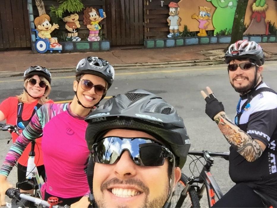 passeio turístico de bike