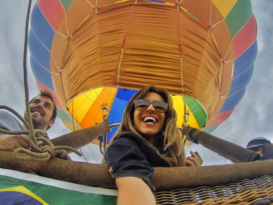 passeio de balão em SP