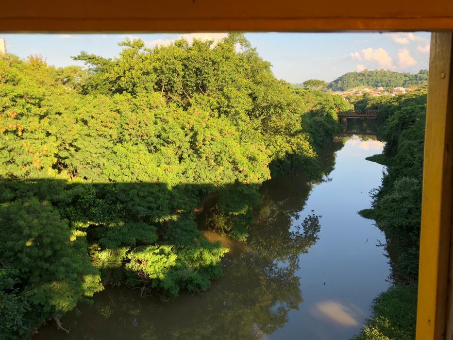 passeio de trem entre Campinas e Jaguariúna
