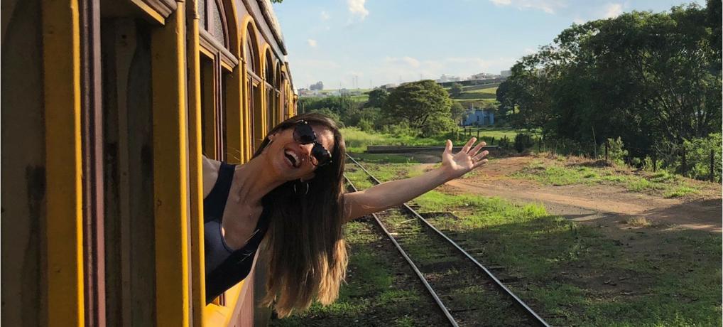 Que tal um passeio de trem entre Campinas e Jaguariúna/SP?