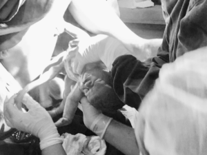 Relato de parto humanizado